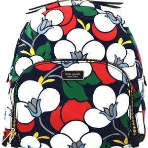 Kate Spade Dawn Breezy Floral Backpack NWT